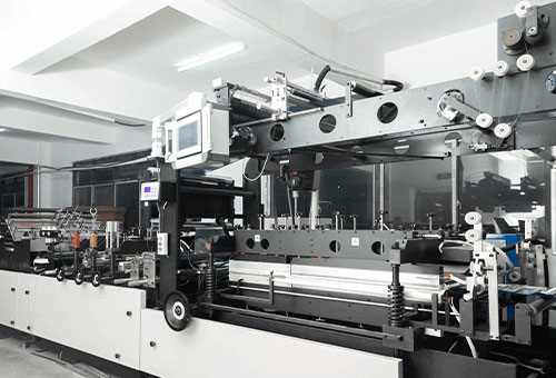curing machines in flexible packaging factory